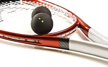Squash Třebíč 1+1 hodina zdarma