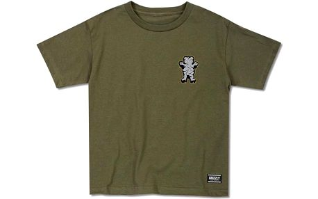 triko GRIZZLY - King Of The Mountain Cub Military Green (MLGR) velikost: L