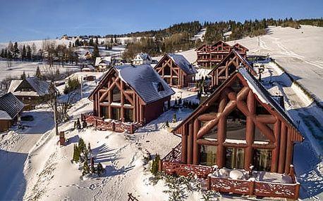 Nevídaný luxus a komfort v chatách Mountain resort pro 8 osob
