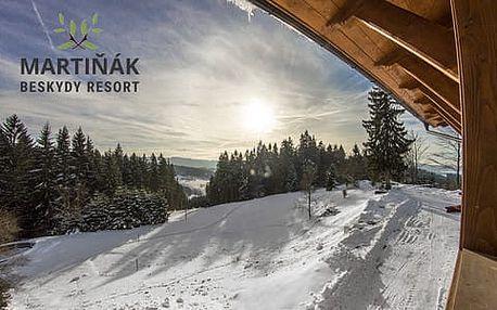 Horský Hotel Martiňák *** na hřebenu Beskyd s polopenzí a neomezeným vstupem do největšího wellness thermal parku na Moravě