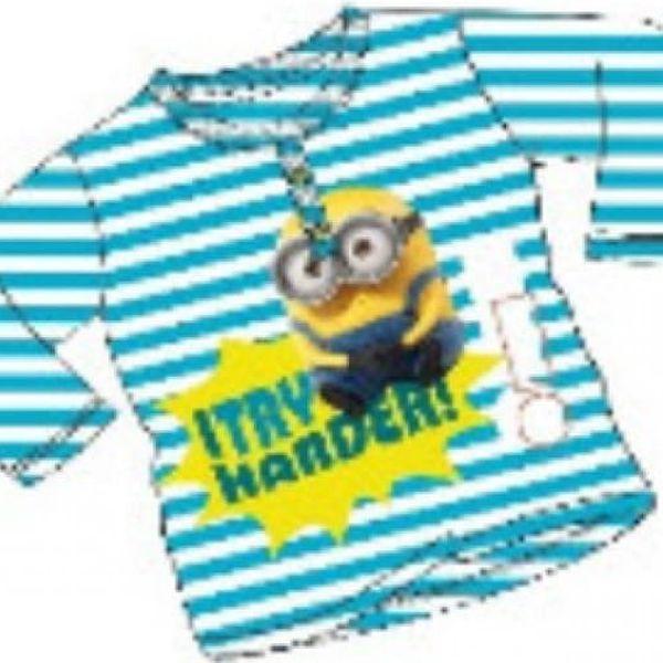 Dětské tričko s dlouhým rukávem Mimoni