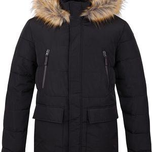 TEROK pánský zimní kabát černá M