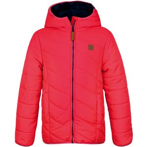LOAP KIDS ULRICH dětská zimní bunda růžová 146/152
