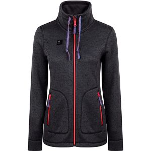 GENOVENA dámský sportovní svetr šedá M