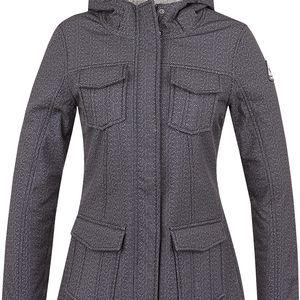 LATI dámská softshellová bunda černá S