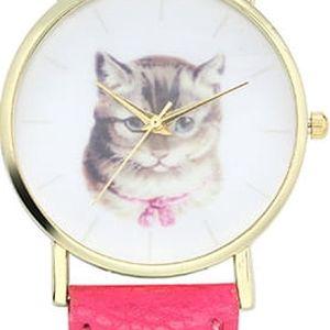 Roztomilé hodinky pro milovnice koček
