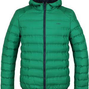 ITARIEM pánská zimní bunda do města zelená S