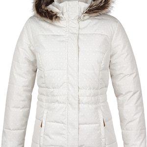 TONINA dámská zimní bunda do města bílá L