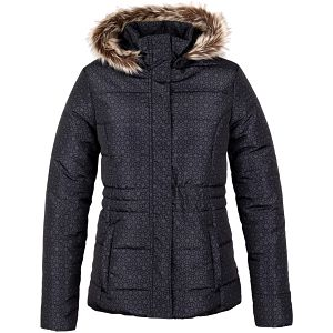 TONINA dámská zimní bunda do města černá XS