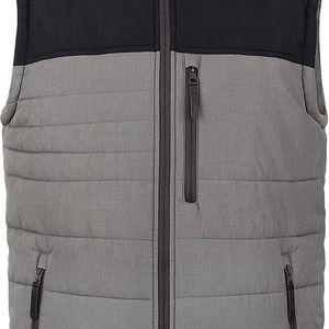 THOR pánská sportovní vesta šedá XL