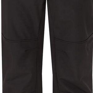 LILIPUT pánské softshellové kalhoty černá S