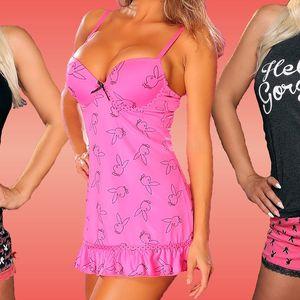 Pyžama a košilka Playboy