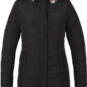 TAFETA dámský kabát do města černá S