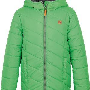 LOAP KIDS ULRICH dětská zimní bunda zelená 112/116