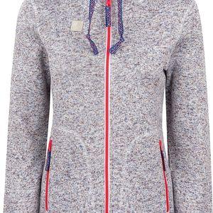 GENOVENA dámský sportovní svetr hnědá S