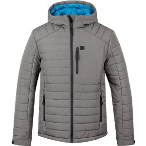TOTORO pánská zimní bunda do města šedá S