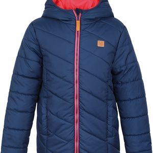 LOAP KIDS ULRICH dětská zimní bunda modrá 112/116