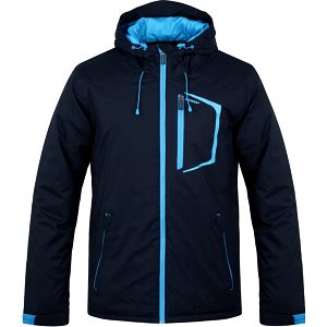 LAFEK pánská lyžařská bunda modrá XL
