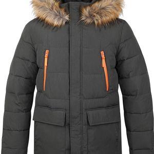 TEROK pánský zimní kabát hnědá L