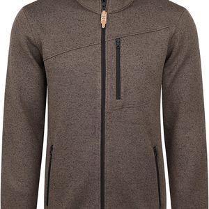 GYLLY pánský sportovní svetr hnědá M