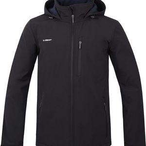 LADRAN pánská softshellová bunda černá XXL