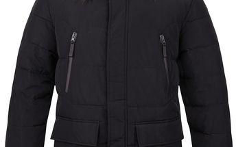 TEROK pánský zimní kabát černá L
