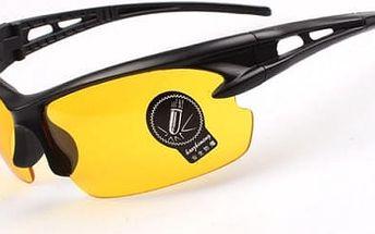 Cyklistické sportovní brýle