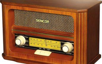 Radiopřijímač Sencor SRD 020 RETRO