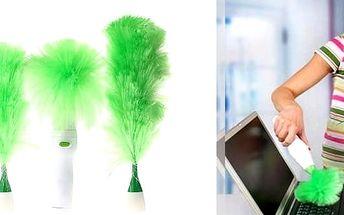 Praktická rotační prachovka Spin duster.Usnadněte si úklid, pořiďte si maximálněefektivního pomocníka.