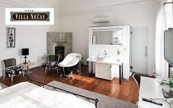 Nádech elegance v historických prostorách hotelu Villa Nečas****