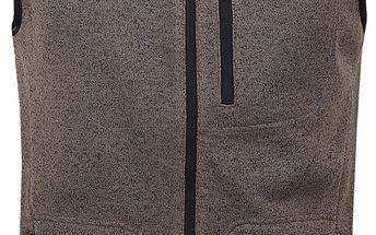 GARRY pánská vesta hnědá S