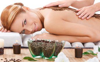 Opulentní kávový rituál: Peeling, zábal a masáž