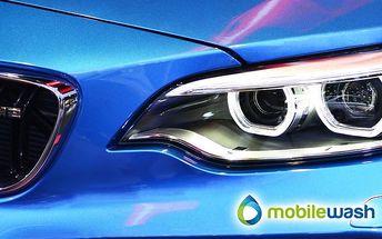 Vyčištění exteriéru vozu včetně čištění klimatizace od MobileWash v Praze