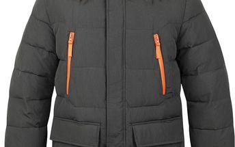 TEROK pánský zimní kabát hnědá M