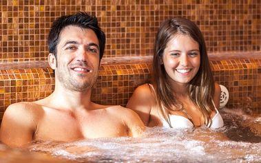 Třídenní wellness pobyt s AQUA - VITAL Parkem v lázních Lúčky pro dva