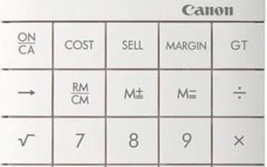 Kalkulačka Canon X Mark II (8339B002AA) bílá