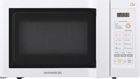 Mikrovlnná trouba s grilem Daewoo KQG 6L6BW