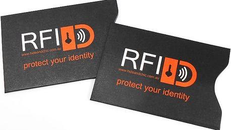 2 ks ochranného krytu na kreditní karty proti zneužití