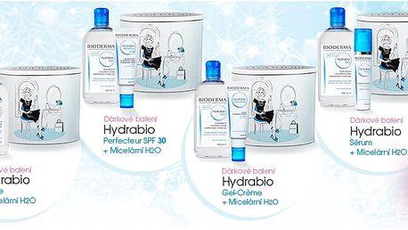 BIODERMA Vánoce Hydrabio Serum plus Hydrabio H2O