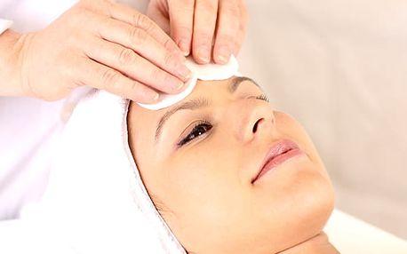 Ošetření pleti přírodní dermatologií pro všechny typy pleti včetně hloubkové diagnostiky.