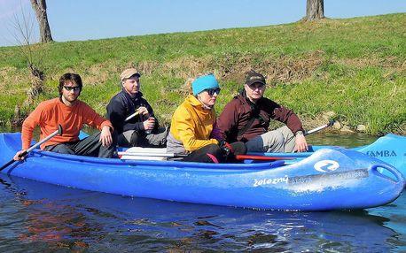 Dobrodružství na řece Nise až pro 3 výletníky