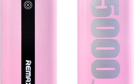 Nabíječka REMAX Power Bank Proda E5 5000mAh Růžová