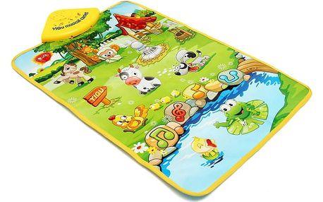 Dětský hudební kobereček - dodání do 2 dnů