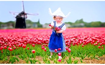 3denní zájezd do Holandska s návštěvou parku Keukenhof a Amsterdamu pro 1 osobu