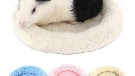 Teplý pelíšek pro malé domácí mazlíčky