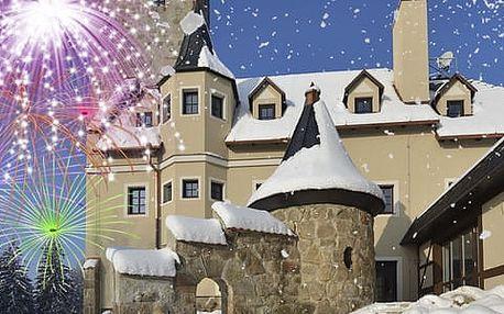Silvestr v Liberecké výšině s rautem, přípitkem a hudebním programem pro 1 osobu