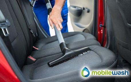 Kompletní čištění vozu včetně tepovaní od MobileWash v Praze