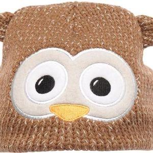 Dětská čepice Regatta RKC098 VIVA Animal Hat PartridgBrown