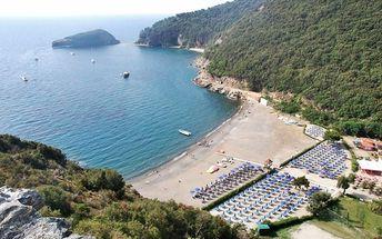 Itálie - Elba na 8 dní, plná penze nebo polopenze s dopravou vlastní