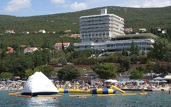 Chorvatsko - Crikvenica na 8 až 15 dní, plná penze nebo polopenze s dopravou vlastní